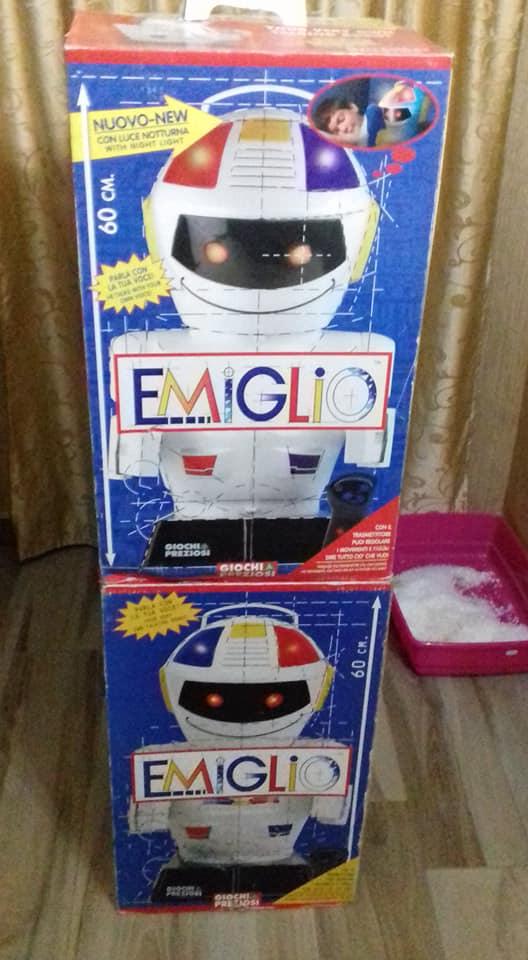 robot emiglio fondo di magazzino 49128210