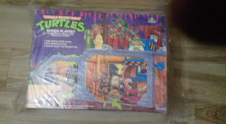 playset turtles 1989 fondo di magazzino 49661415