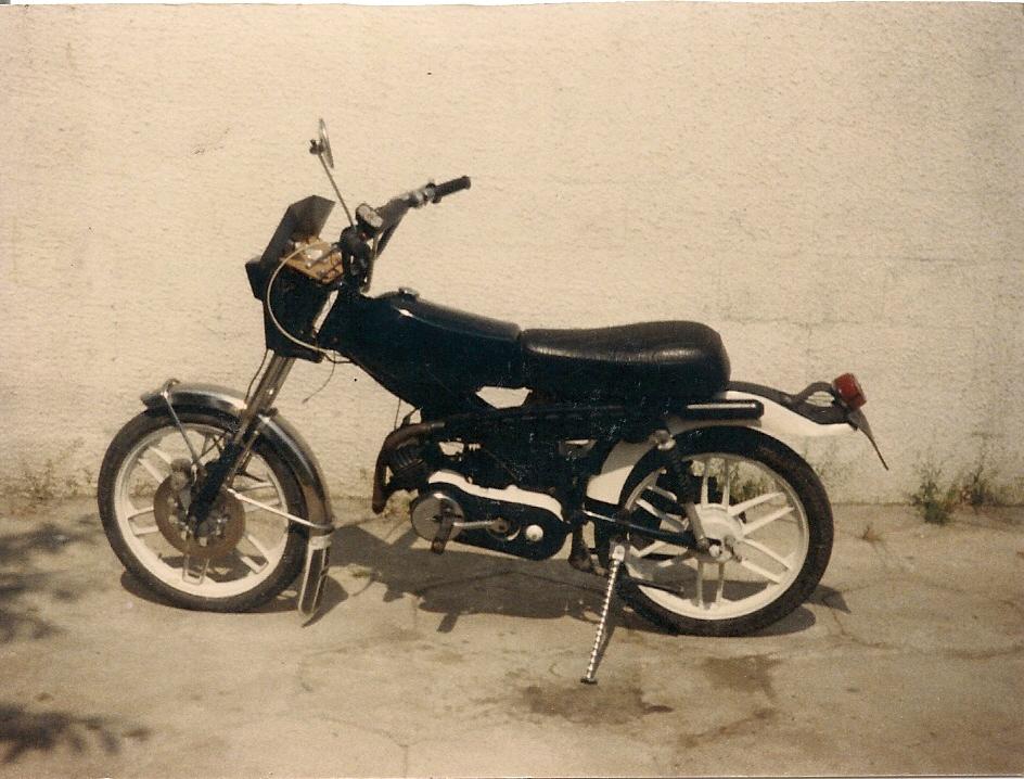 Motobécane 99Z et contre piston Numzor10