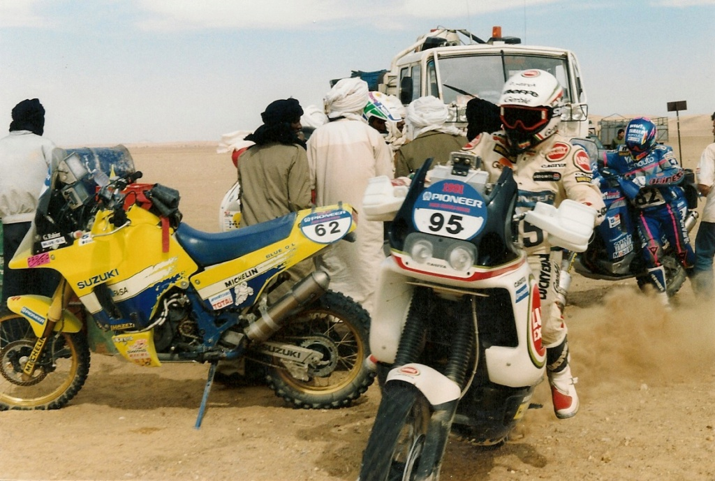 Hubert Auriol l'africain Numzor21