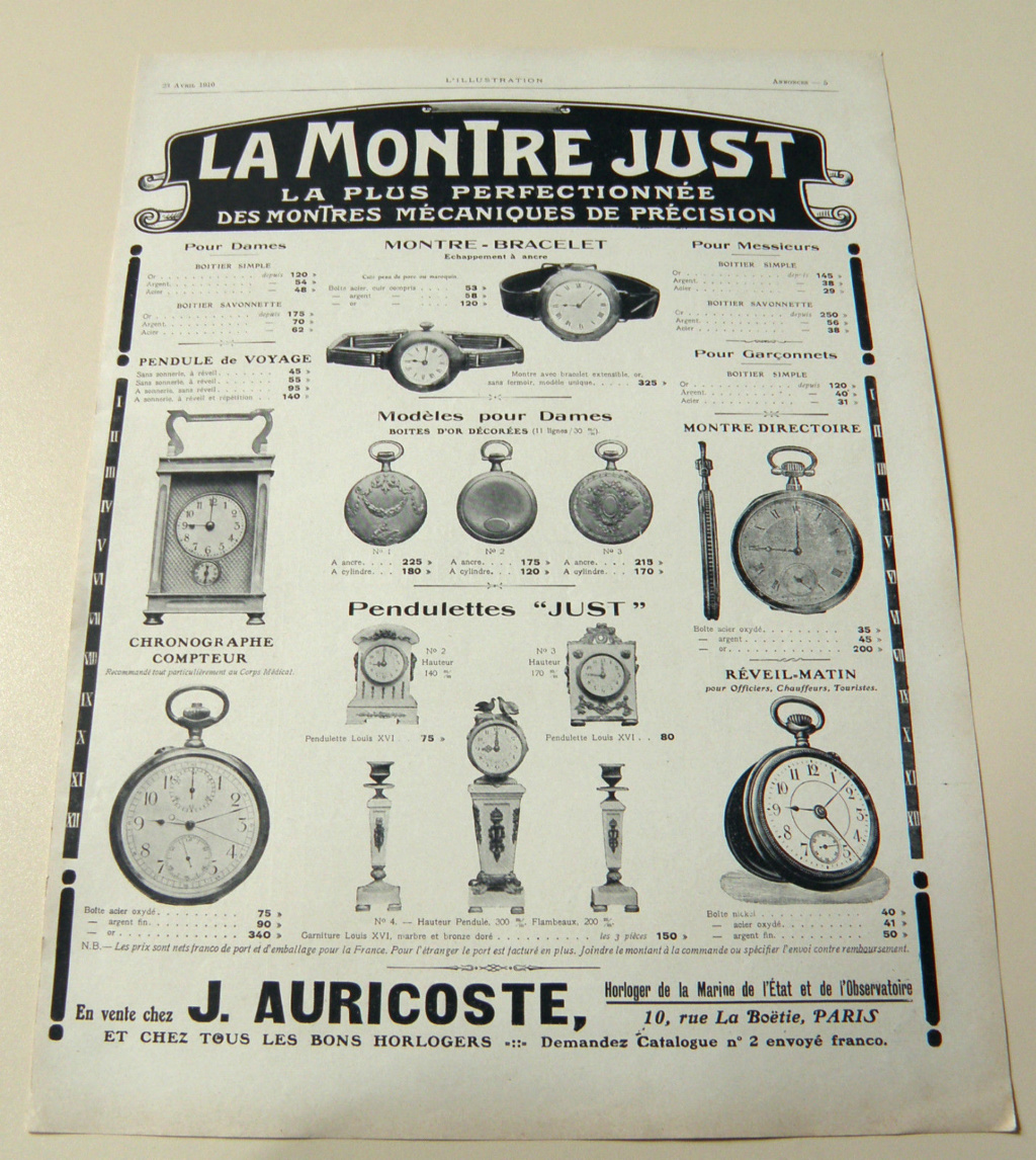 Identification montre LE PHARE Aurico14