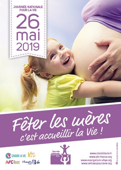 Bonne fête à toutes les mamans et journée nationale pour la Vie  7874e110