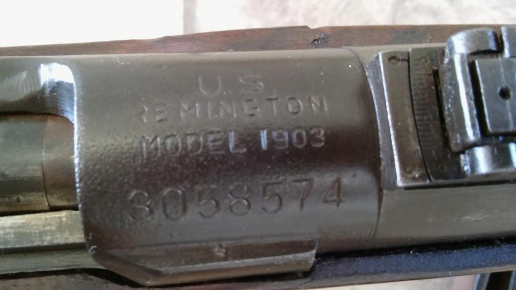 Springfield 1903 armée française 1942 20201014