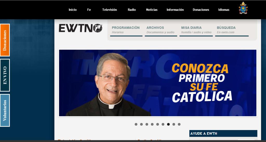 visiten la red catolica mundial EWTN Captu218