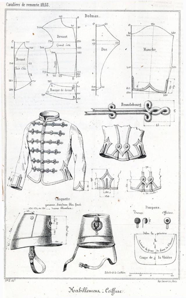 Le dolman dans l'armée française 1872-1914 1855-110