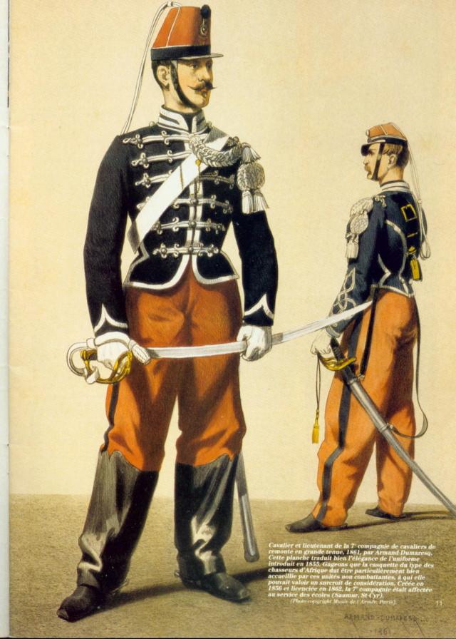 Le dolman dans l'armée française 1872-1914 64630110
