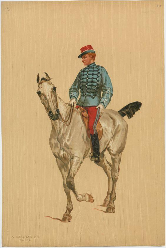 Le dolman dans l'armée française 1872-1914 August10