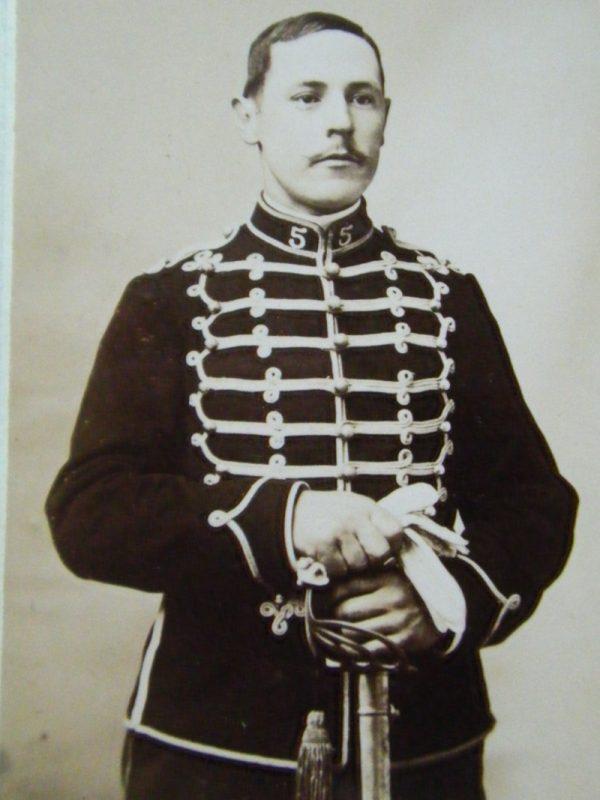 Le dolman dans l'armée française 1872-1914 Chomet10