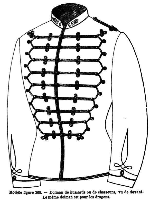 Le dolman dans l'armée française 1872-1914 Image_42