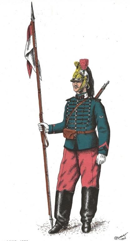 Le dolman dans l'armée française 1872-1914 Image_51