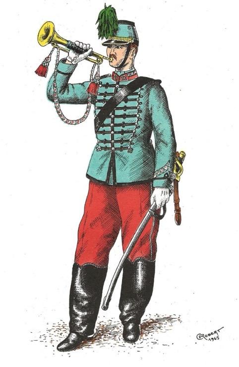 Le dolman dans l'armée française 1872-1914 Image_68