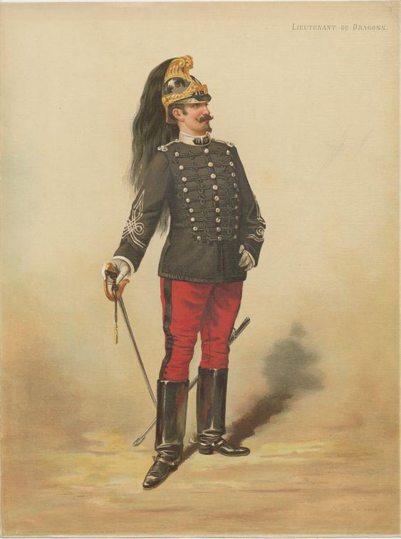Le dolman dans l'armée française 1872-1914 Legras11