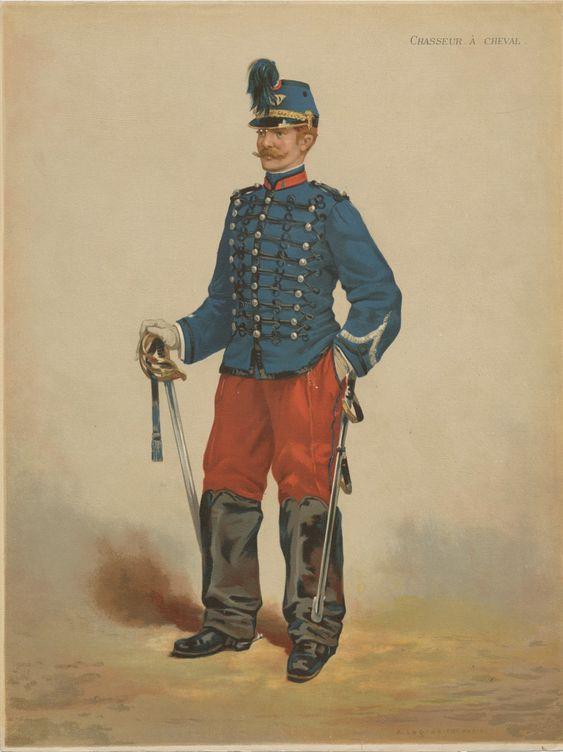 Le dolman dans l'armée française 1872-1914 Legras12