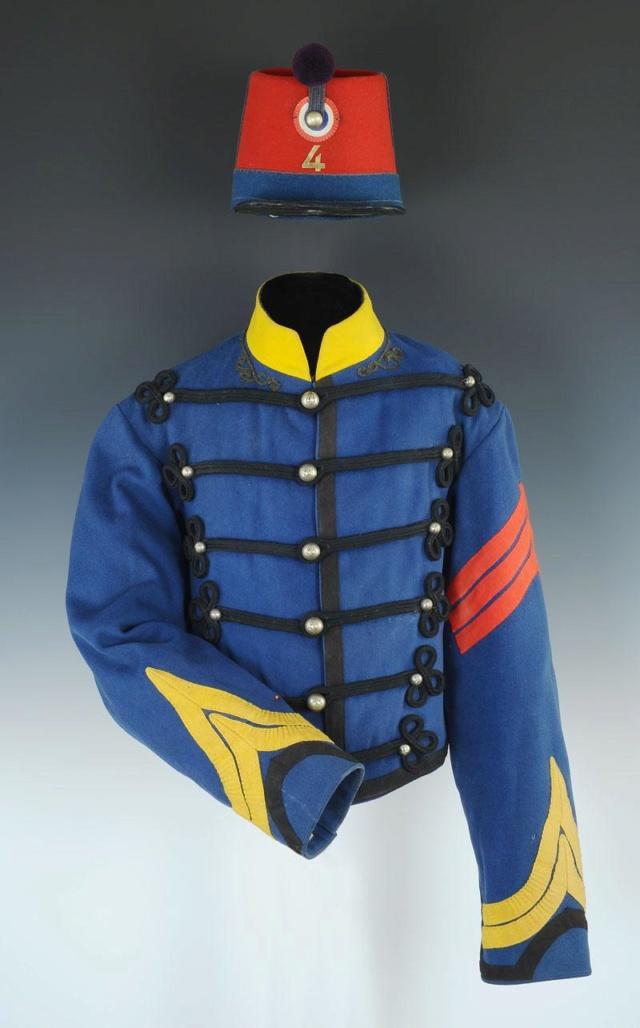 Le dolman dans l'armée française 1872-1914 Produi35