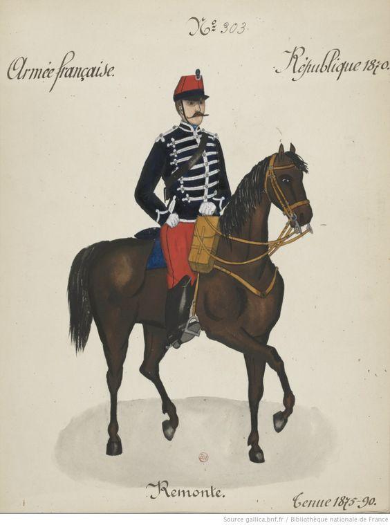 Le dolman dans l'armée française 1872-1914 Remont10