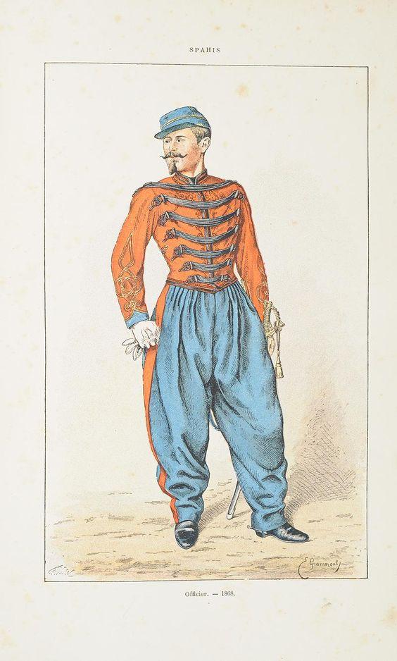 Le dolman dans l'armée française 1872-1914 Spence12