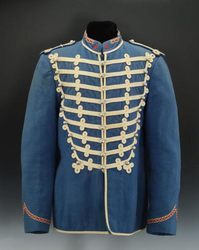 Le dolman dans l'armée française 1872-1914 Trompe10