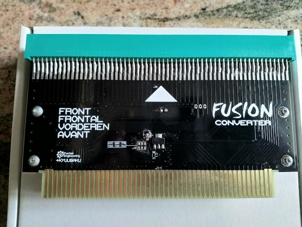 Coque (impression 3D) pour adaptateur MVS Fusion de furrtek - Page 3 Img_2040