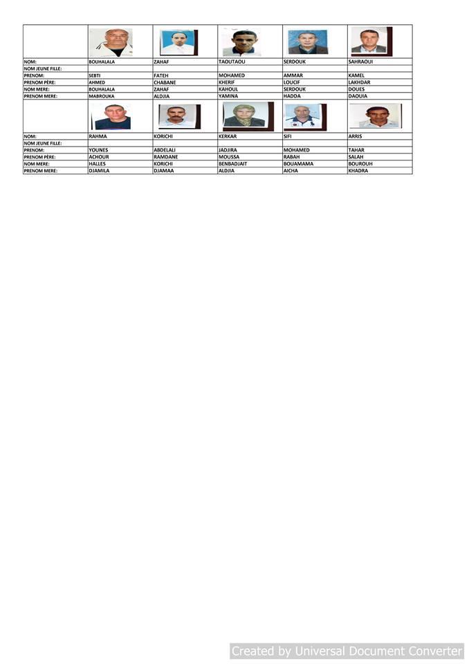 قائمة المستفيدين من السكن الاجتماعي بلدية قسنطينة جانفي 2019  1311