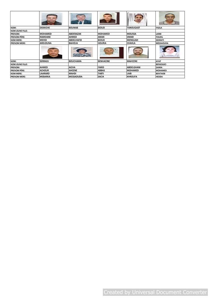 قائمة المستفيدين من السكن الاجتماعي بلدية قسنطينة جانفي 2019  2111