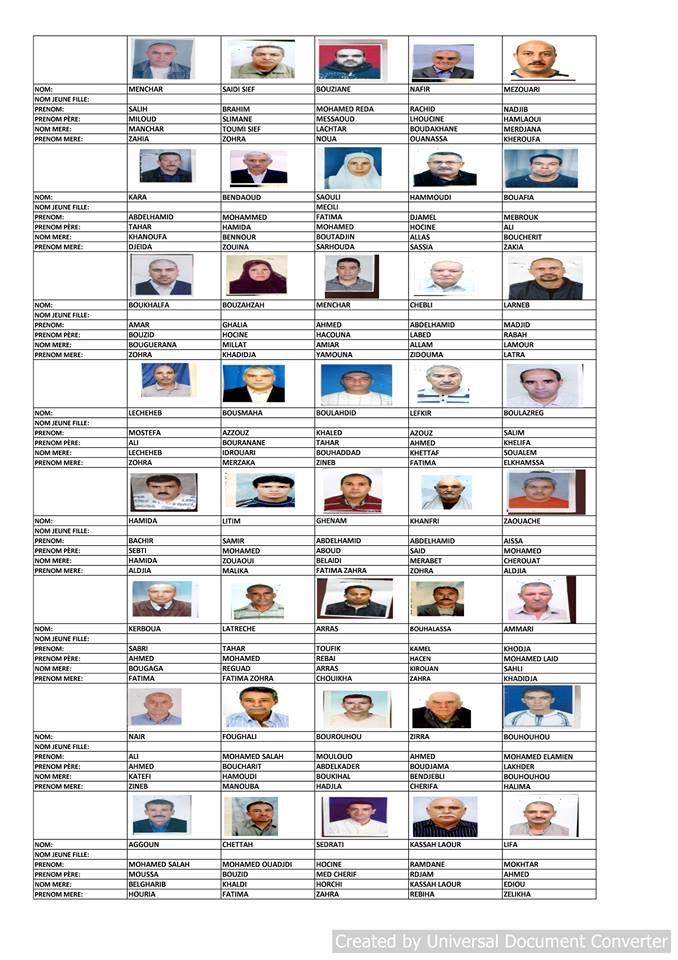 قائمة المستفيدين من السكن الاجتماعي بلدية قسنطينة جانفي 2019  2311