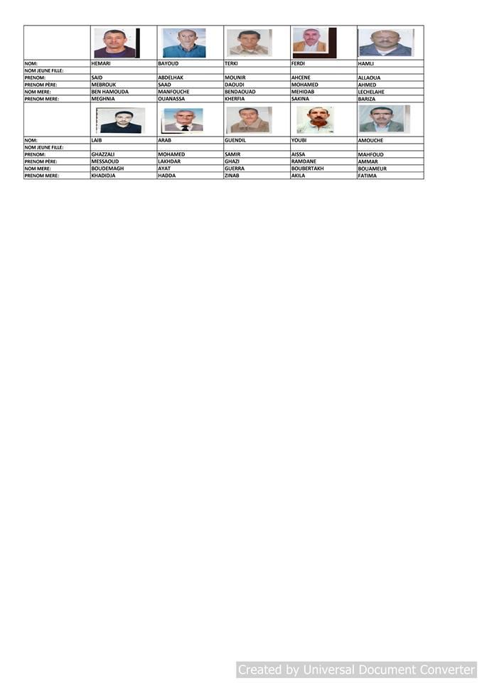 قائمة المستفيدين من السكن الاجتماعي بلدية قسنطينة جانفي 2019  2511