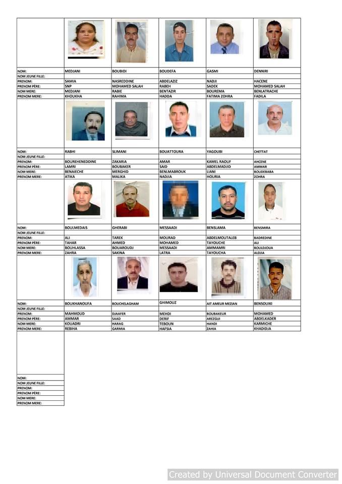 قائمة المستفيدين من السكن الاجتماعي بلدية قسنطينة جانفي 2019  311