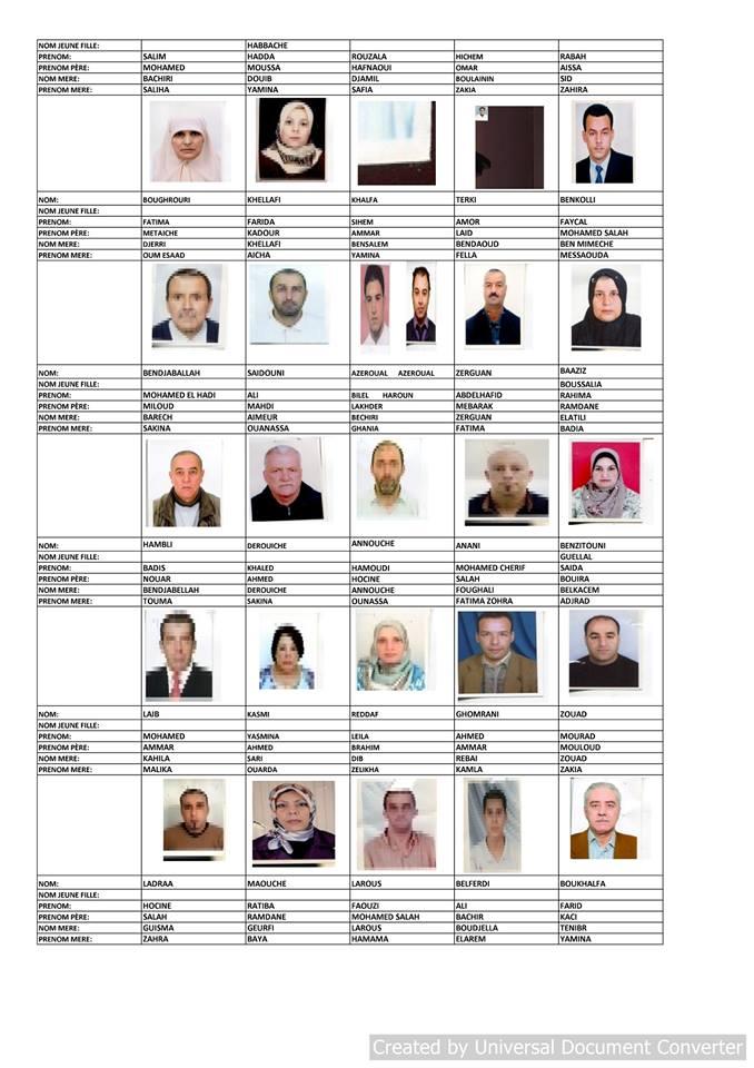 قائمة المستفيدين من السكن الاجتماعي بلدية قسنطينة جانفي 2019  411