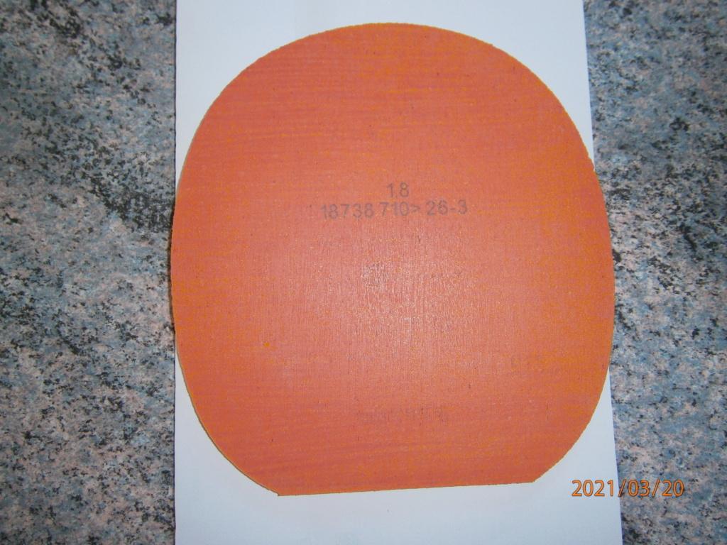 revêtement ANDRO GTT45 1.8mm rouge(comme neuf) P3200211
