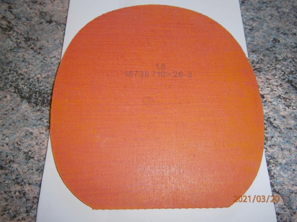 revêtement ANDRO GTT45 1.8mm rouge(comme neuf) P3200212