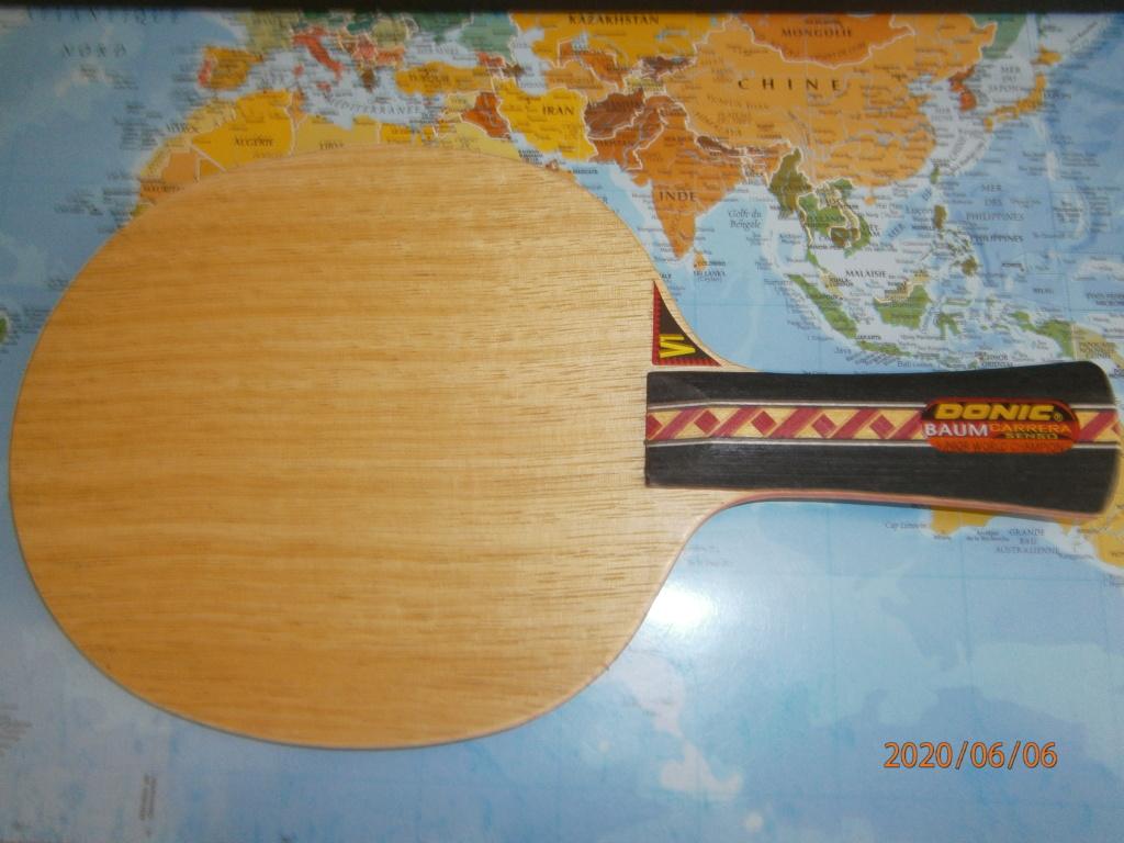 Bois DONIC BAUM carrera SENSO V1 NEUF Concave 95,4grs P6060211