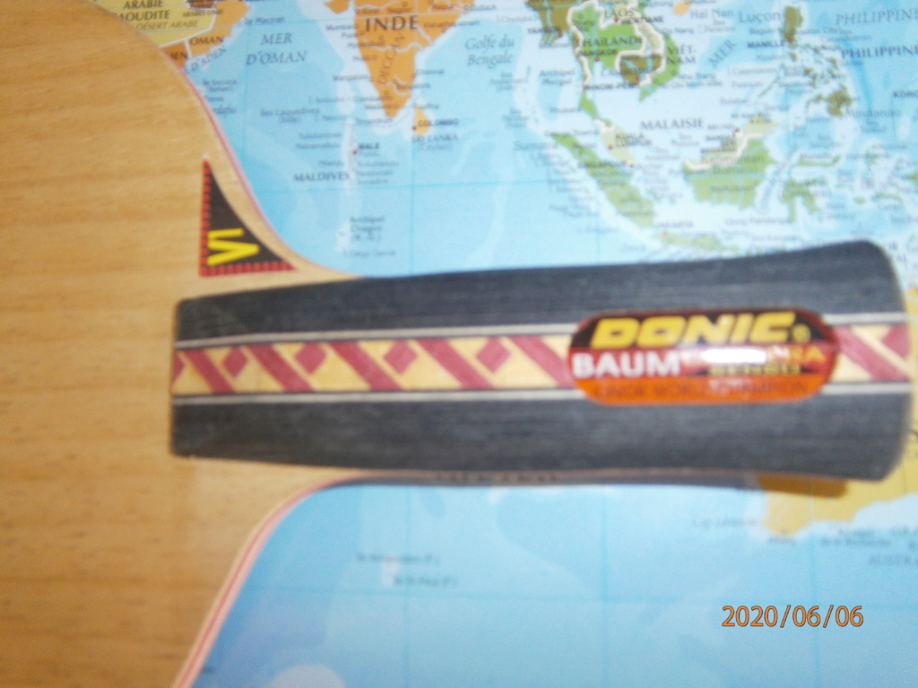 Bois DONIC BAUM ANATOMIQUE Carrera SENSO V1 94grs NEUF P6060215