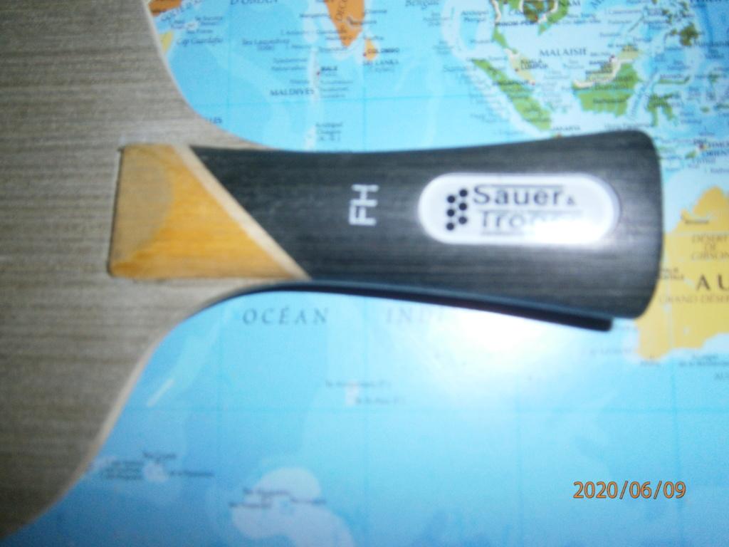 Bois SAUER!§ TROGER Dominate All concave 81grs NEUF VENDU P6090212