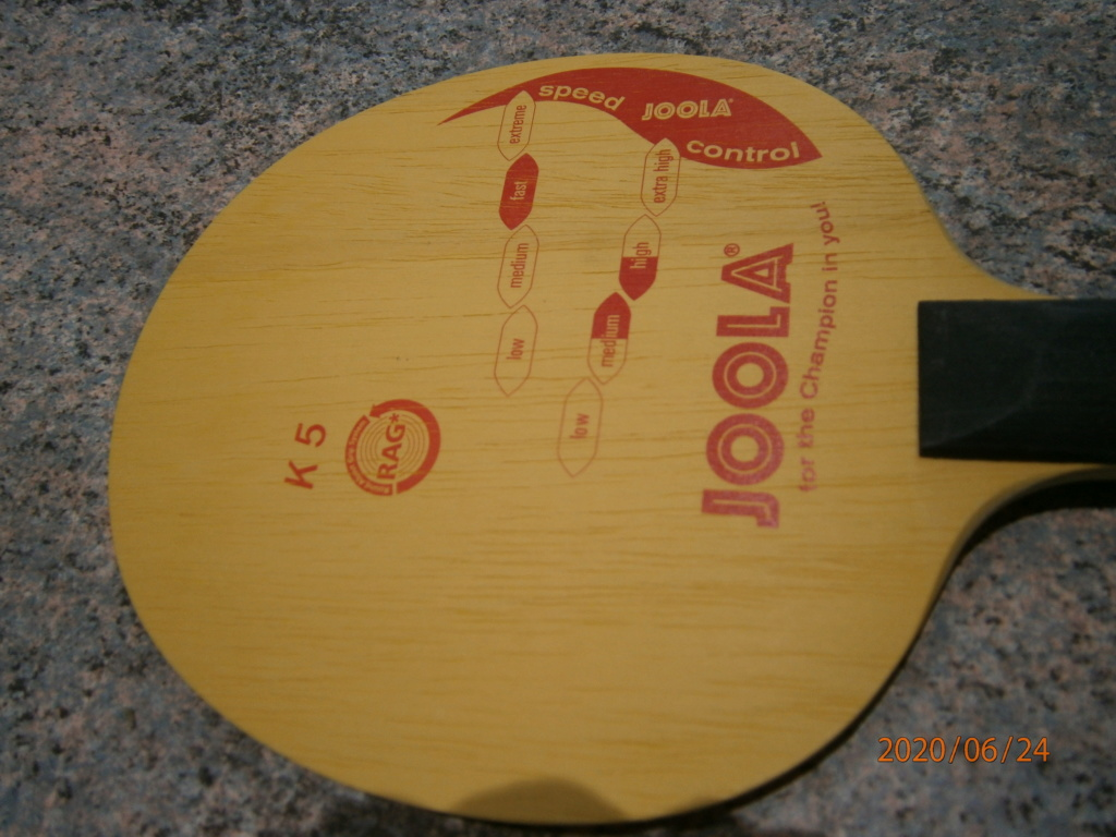 bois Joola K5 NEUF 84,6grs manche droit P6240211