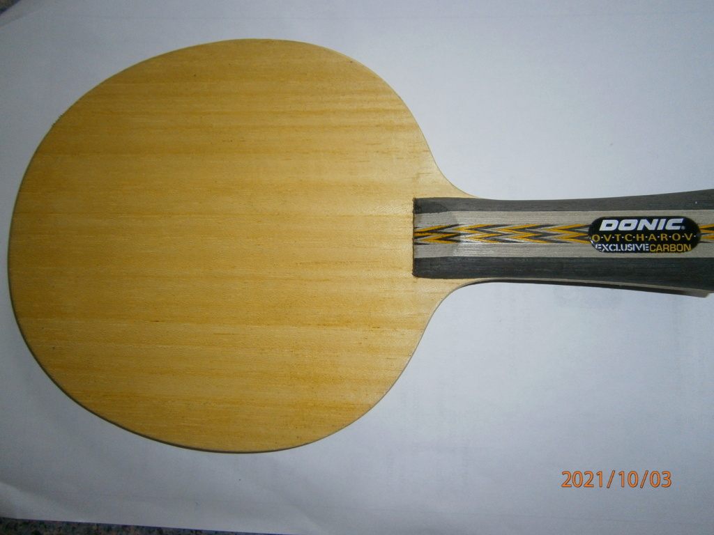 Bois Donic ovtcharov exclusive carbon NEUF concave Pa030010