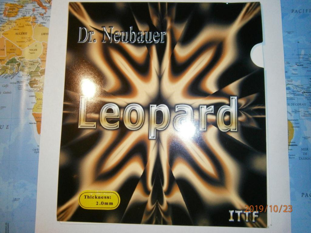 revêtement leopard noir 2mms Dr Neubauer Neuf découpé large Pa230112