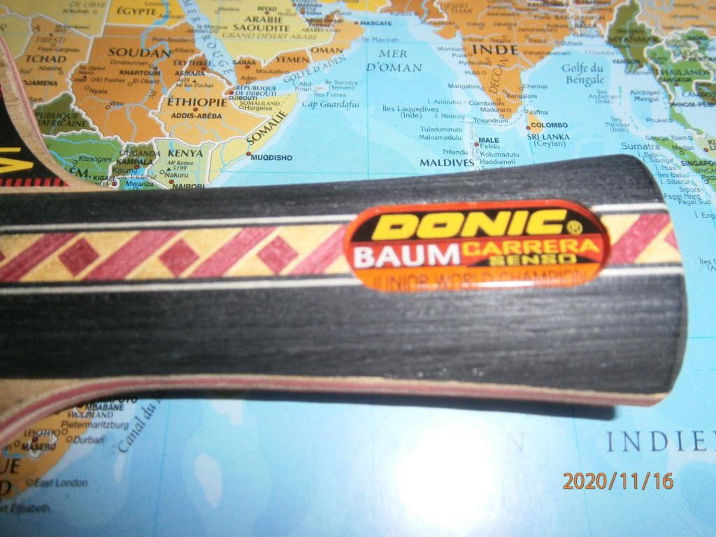 Bois DONIC Baum Senso carrera V1 NEUF 7plis off concave Pb160212