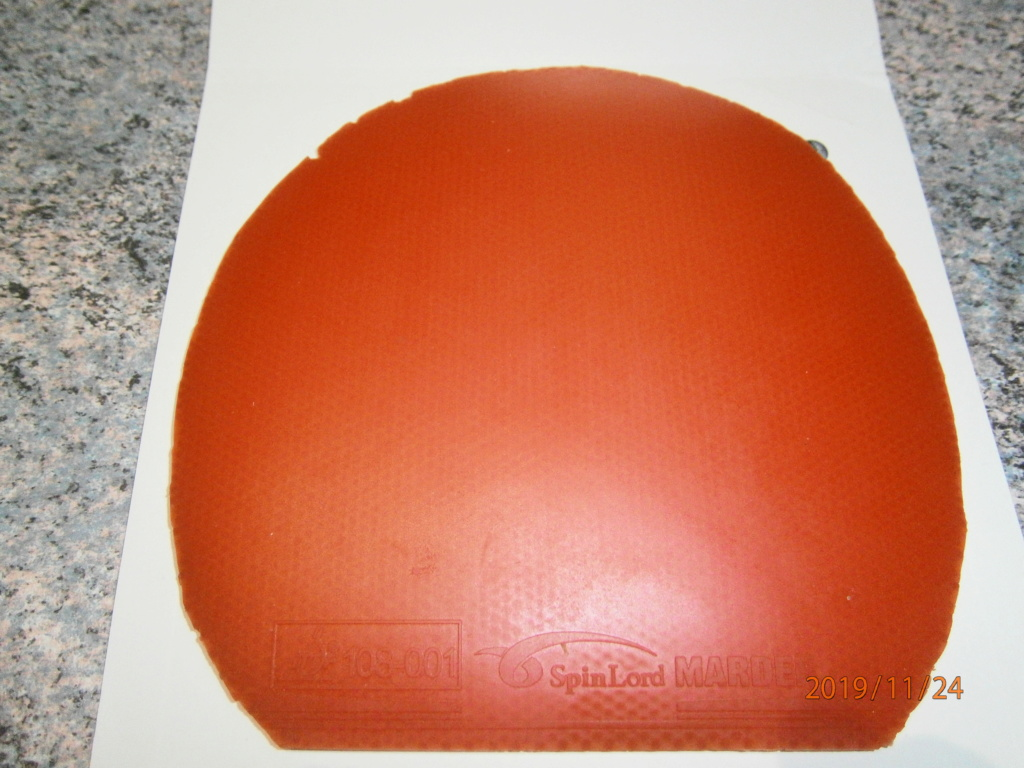 revêtement MARDER spinlord rouge 2mms Gde palette Pb240110