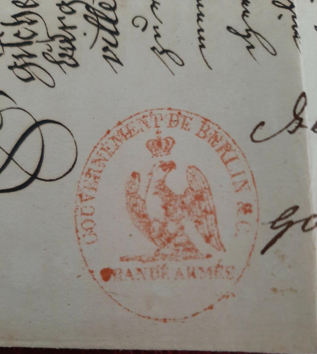 Passeport du Grand Duché de Berg Berg111