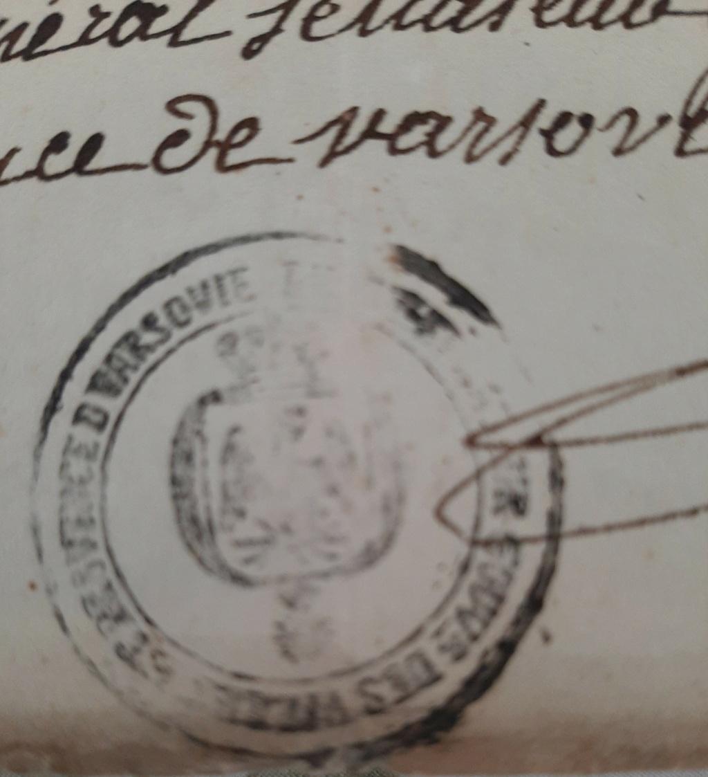 Passeport du Grand Duché de Berg Berg211