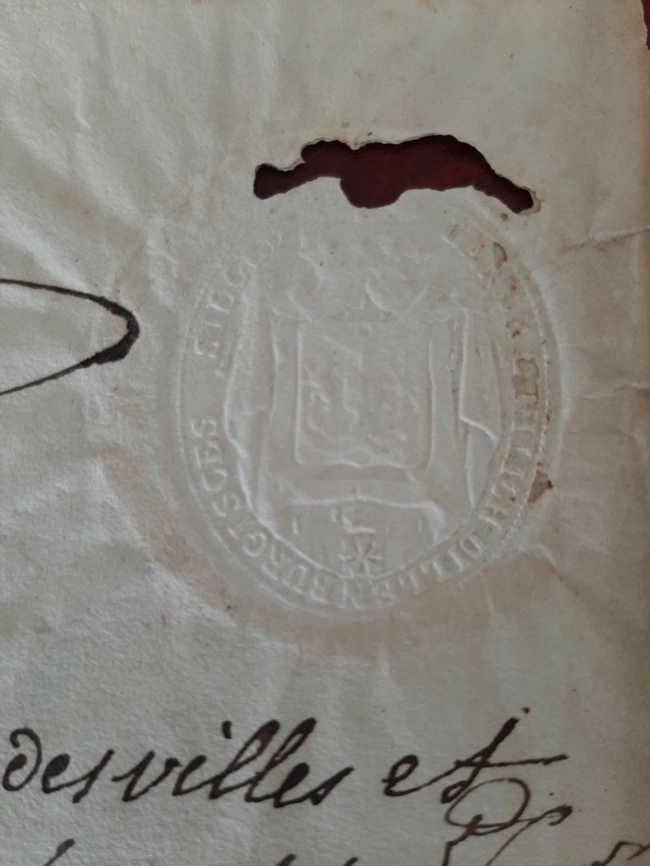 Passeport du Grand Duché de Berg Berg310