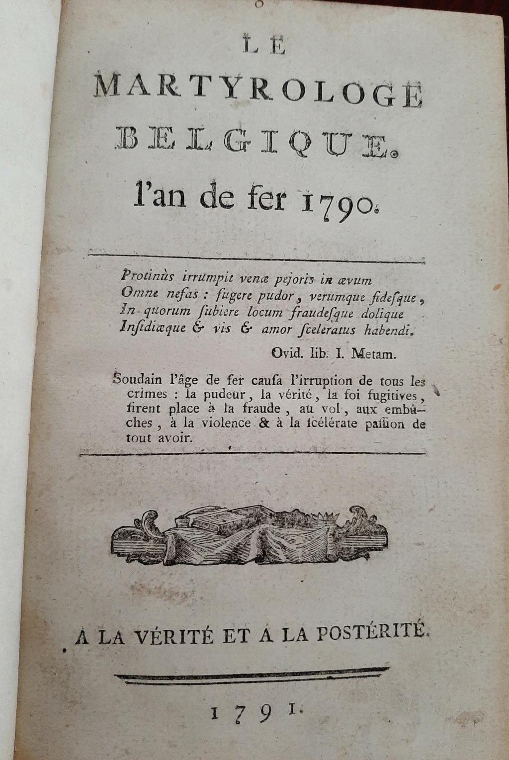 Révolution Brabançonne 1787-1790 Revbra26