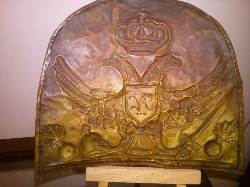 Plaque de bonnet à poil , sans doute, de grenadier Shakos18