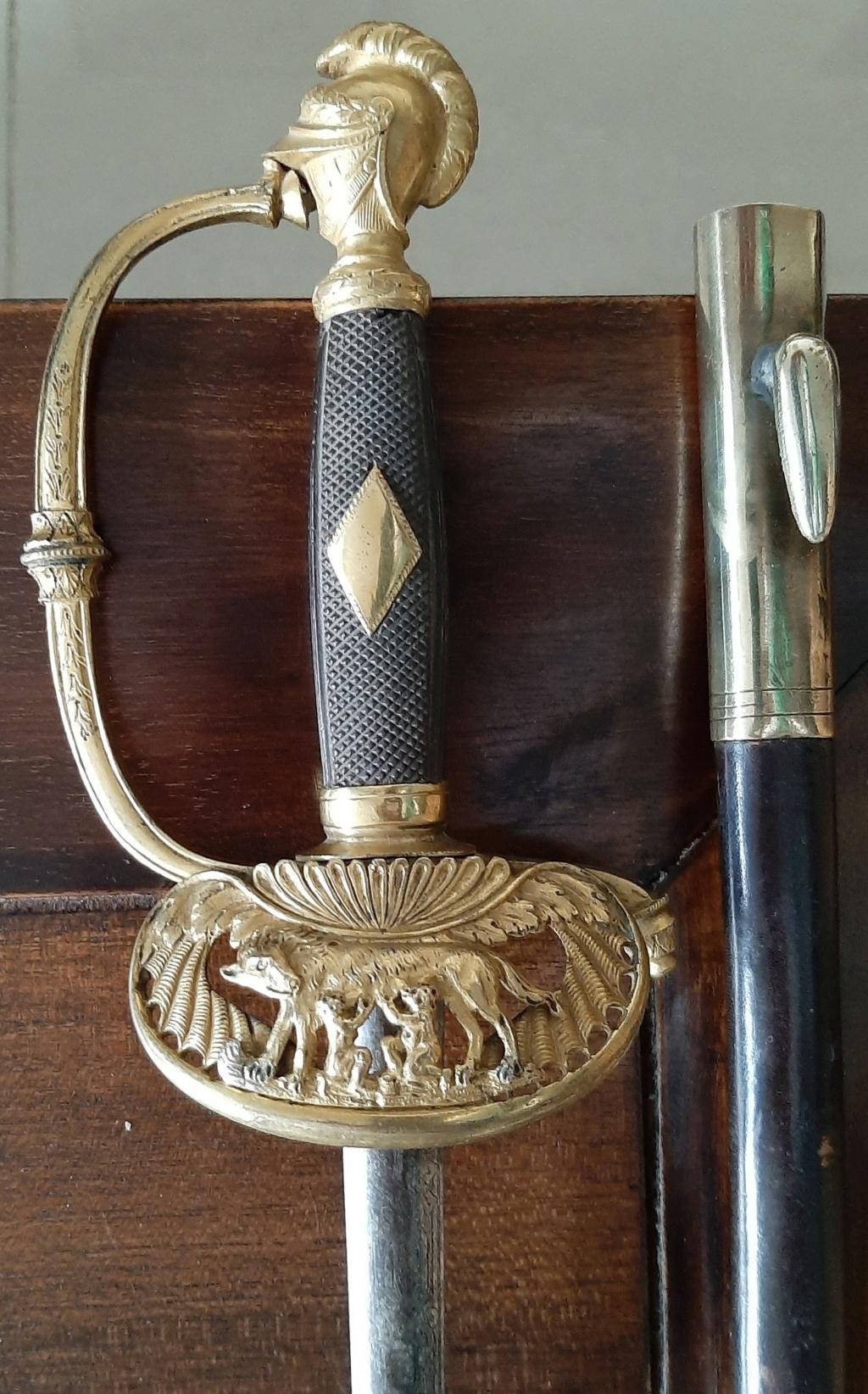 Epée à clavier début XIXème peu courante Zopzoe12