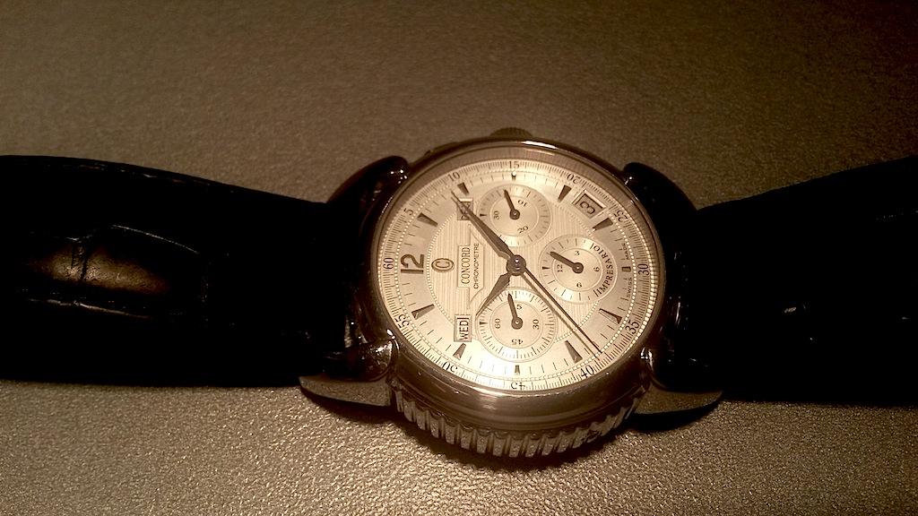 {VENDS} Concord Impresario chronograph  Acier El Primero 411 calendrier complet Concor10