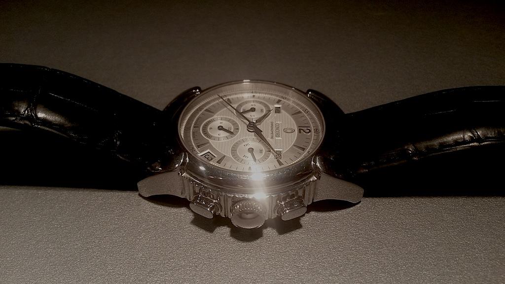 {VENDS} Concord Impresario chronograph  Acier El Primero 411 calendrier complet Concor12