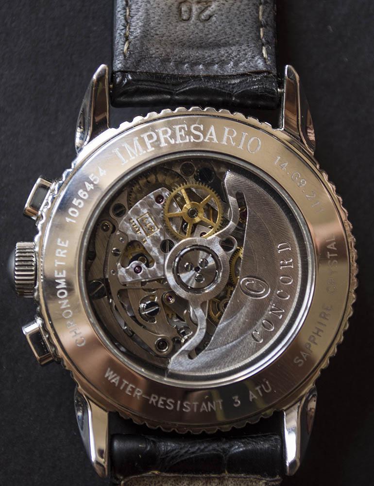 {VENDS} Concord Impresario chronograph  Acier El Primero 411 calendrier complet Concor17