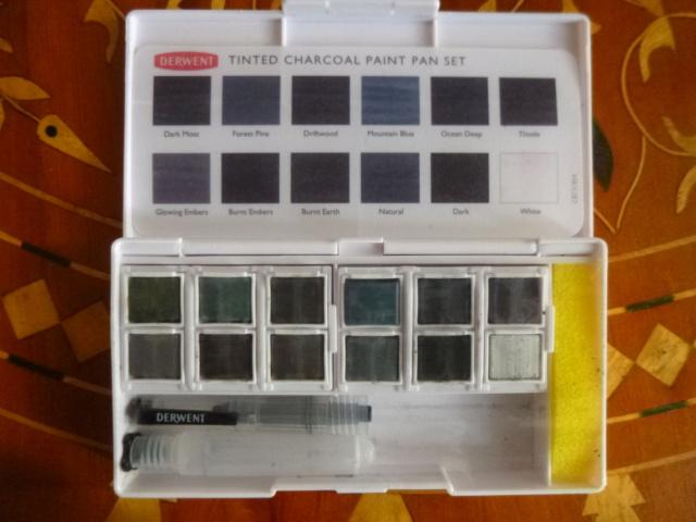 Aquarelle Derwent Charcoal P1110134