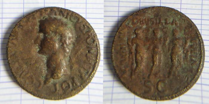 Infos fausse monnaie - Caligula Caligu10