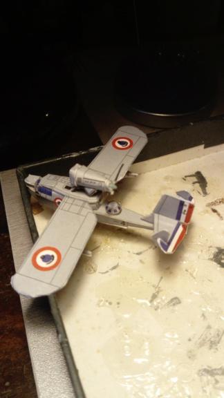 Croiseur Algérie 1/200 papier carton scratch Eagle GPM PE Shapeways . Dsc_0135